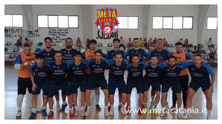 Test Match: la Meta Catania vince a Regalbuto 1-6