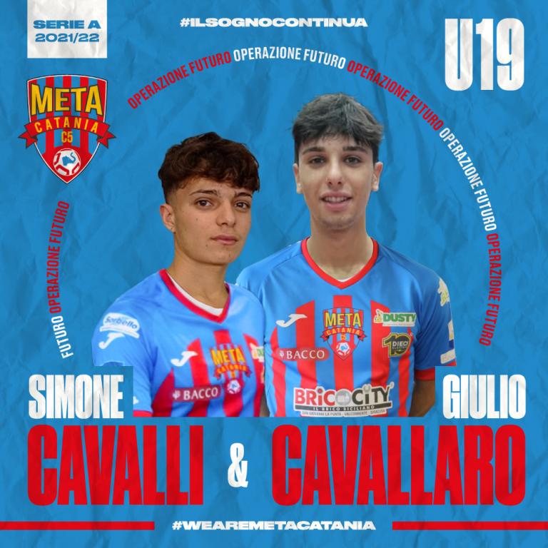 Under 19, Ufficiale: Cavallaro e Cavalli ancora con noi.