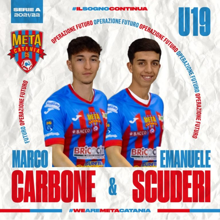 Ufficiale, Under 19: Carbone e Scuderi in rosaazzurro
