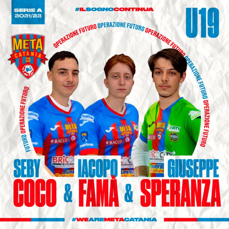Ufficiale, Under19: Speranza, Coco e Fama' ancora con noi
