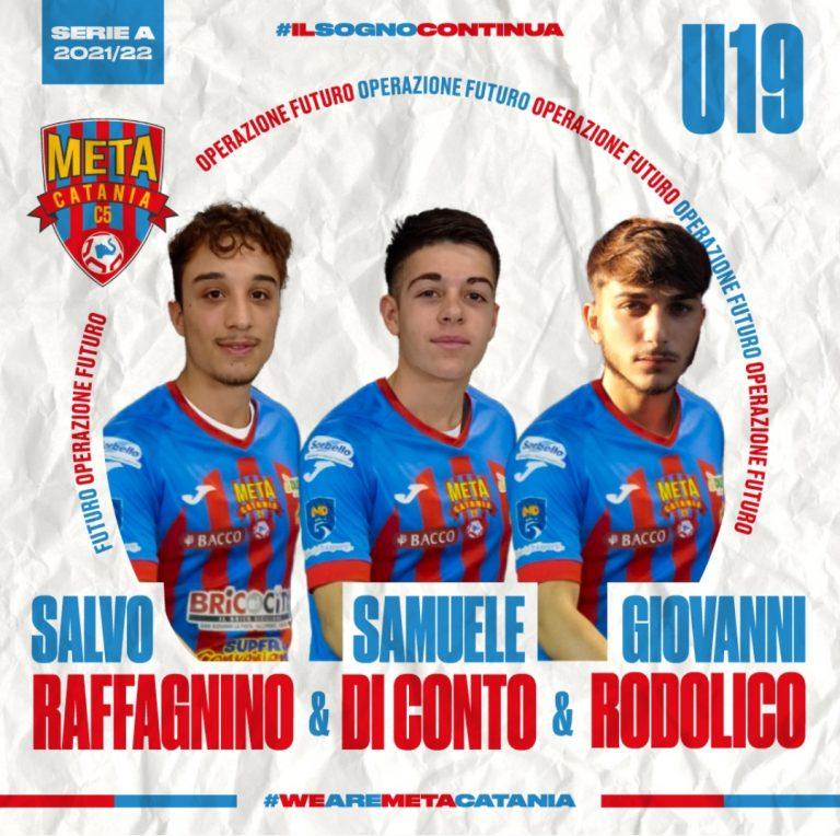 Under 19, Ufficiale gli innesti di Raffagnino, Di Conto e Rodolico